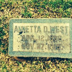 Annetta D. West
