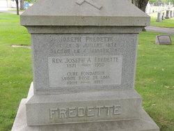 Rev Joseph A Fredette