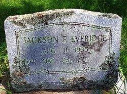 """Jackson F """"Jack"""" Everidge"""