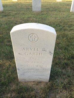 Arvel B Garth