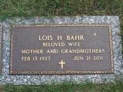 Lois H <I>Schoen</I> Bahr