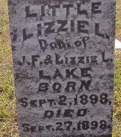 (Lil) Lizzie L Lake