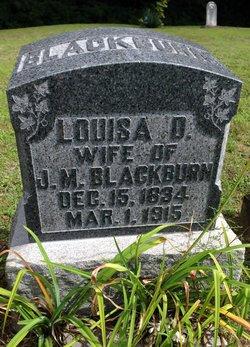 Louisa D. Blackburn