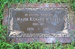 Maj Richard Walter Gyles