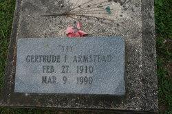 Gertrude <I>Franklin</I> Armstead