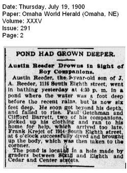 Austin Reeder 1891 1900 Find A Grave Memorial