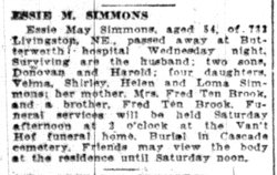 Essie May <I>Ten Brook</I> Simmons