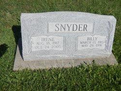 Irene <I>Maxwell</I> Snyder