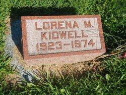 Lorena Mae <I>Sherman</I> Kidwell