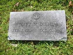 Mary M. <I>Benton</I> Diehl