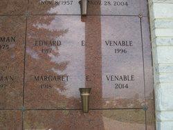 "Margaret Elizabeth ""Betty"" <I>Baggett</I> Venable"