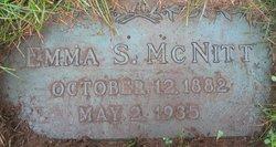 Emma Sarah <I>Merrill</I> McNitt