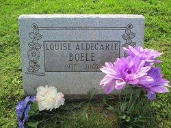 Louise E. <I>Aldegarie Choitz</I> Boele