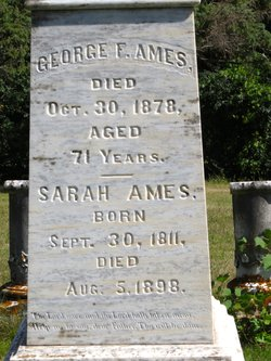 Sarah <I>Woodard</I> Ames