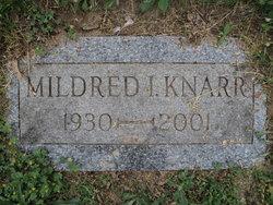 """Mildred Irene """"Millie"""" <I>Swan</I> Knarr"""