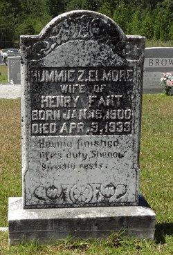 Hummie Zula <I>Elmore</I> Fant