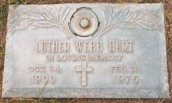 Luther Webb Hurt