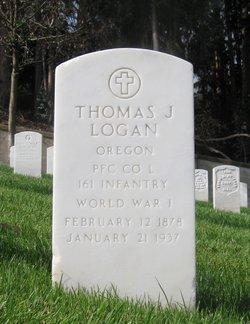 Thomas J Logan
