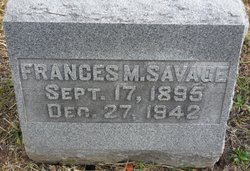 Frances M Savage