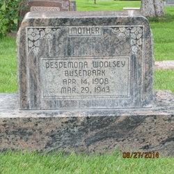 Desdemona <I>Woolsey</I> Busenbark