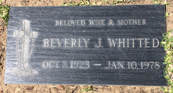 Beverly Jane <I>Roher</I> Whitted