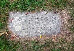 Emma S. <I>Swenson</I> Giles