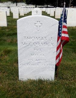 Pvt Thomas J. McCormick