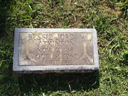 Bessie Jordan <I>Bizzell</I> Atkinson