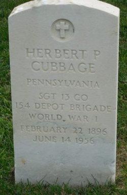 Herbert P Cubbage