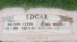 Myrtle Alma <I>Reese</I> Edgar