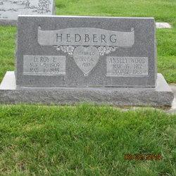 Ansley Rebecca <I>Wood</I> Hedberg