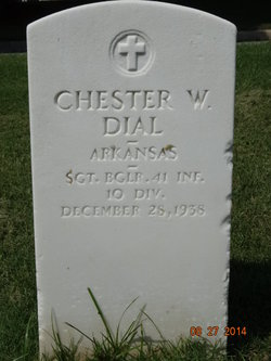 Chester W Dial