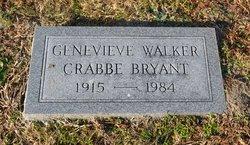 Genevieve <I>Walker</I> Crabbe Bryant