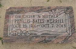 Phyllis Bates Merrill