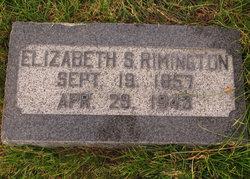Elizabeth <I>Skelton</I> Rimington