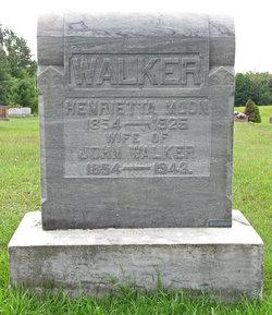 Henrietta <I>Moon</I> Walker