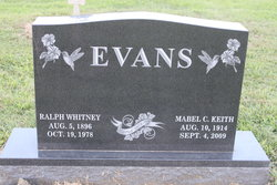 Ralph Whitney Evans