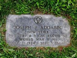 PVT Joseph J Addabbo
