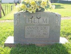 Anner Lou <I>Bottoms</I> Helm Tedder