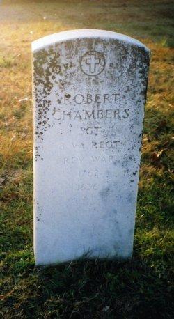 SGT Robert Chambers