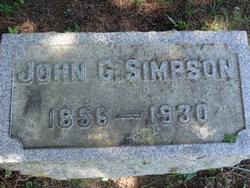 John Glasgow Simpson
