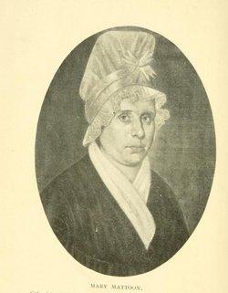 Mary <I>Dickinson</I> Mattoon