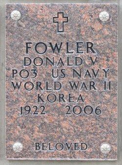 Donald V Fowler