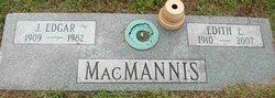 Edith V <I>Eckhart</I> Macmannis