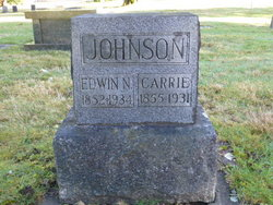 "Caroline ""Carrie"" <I>Butler</I> Johnson"