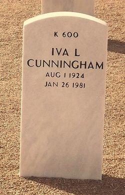 Iva Lee <I>Russell  McGwier</I> Cunningham