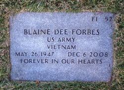 Blaine Dee Forbes