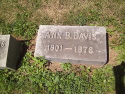 Ann Armistead <I>Bullock</I> Davis