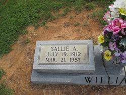 Sallie <I>Allen</I> Williams