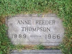 Anne <I>Reeder</I> Thompson